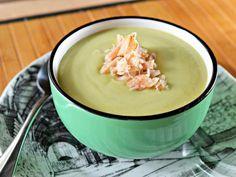 Lemon, Avocado and Crab Soup. It sounds weird, but it's good. I swear, I swear!