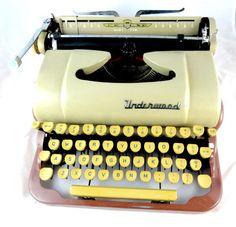 Very Lovely Underwood Typewriter