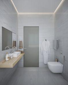 bathroom render on Behance