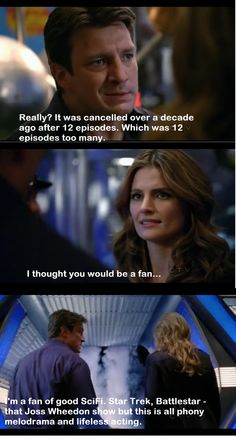 Nathan Fillion is a fan of good sci-fi
