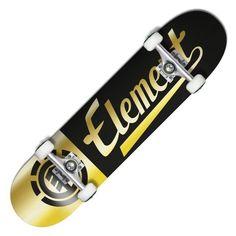 ELEMENT Script Gold skate complet 8 pouces 99,00 € #skate #skateboard #skateboarding #streetshop #skateshop @playskateshop