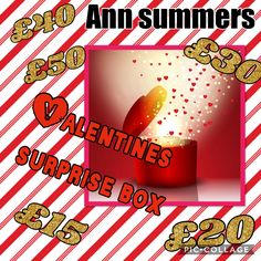 Ann summers surprise boxes  Get yours now