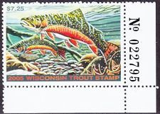 33 Best Wisconsin Trout Stamps Images On Pinterest
