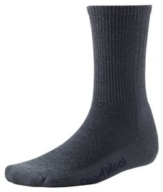 SmartWool Hiking Ultra Light Crew Socks, Charcoal, Medium ** Click on the image for additional details.