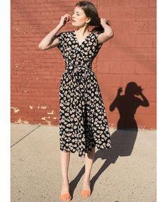 Anemone Scarlett Dress