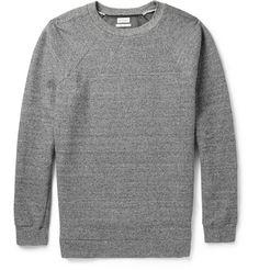 Paul SmithFlecked Cotton and Silk-Blend Jersey Sweatshirt