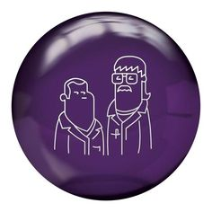 The new Radical Spare Ball features images of bowling's odd couple and two radical dudes, Phil Cardinale and Mo Pinel. Unlike other Radical bowling balls, this new spare ball does not utilize advanced coverstock formulations or innovative core designs. With the polyester coverstock, it simply delivers straight ball motion to help pick up your spares.