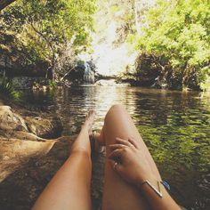 (2) Tumblr girl, nature, water
