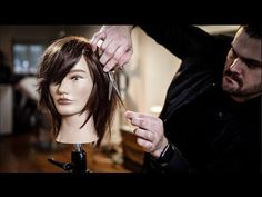 The Modern Shag Haircut | How to cut hair to move away from the face - YouTube