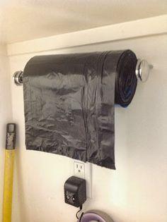 Paper Towel Holder for trash bags