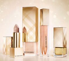 Burberry Beauty Golden Light Makeup Collection for Christmas 2013