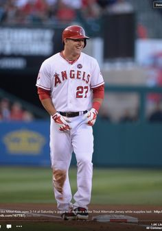 Mike Trout may convert me to an Angels fan!! Wow