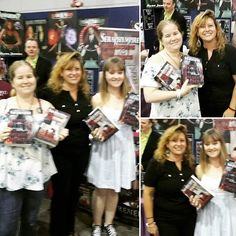A big thank you goes out to all the people who purchased my #Seraphympire #novels @ the #Brisbane #Supanova2016 last weekend. This is why I #love #BookSigning events, because meeting & talking to new people makes what I do all the more special. Thank you again, I hope you enjoy reading my books. @kmurf85 😆❤ 📖📚