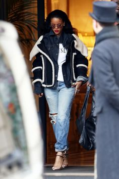 "smokingsomethingwithrihanna:  "" Rihanna leaving her hotel in Paris (Mar. 9)  """