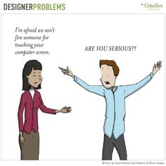 On the Creative Market Blog - Awesome Comics Capture Designer Problems That Are Way Too Real