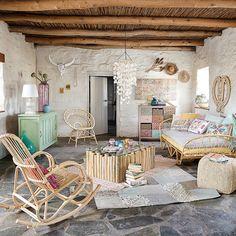 Muebles y decoración de interiores – Casa de campo   Maisons du Monde