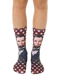 02013ccb5 9 Best Presidential Socks images in 2019 | Crew socks, Amazing gifts ...