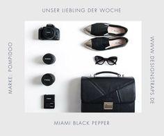 Shop at: www.designstraps.de  Pompidoo  Miami Black Pepper Camera Bag #kameratasche #tasche #camerabag #camera #dslr #travel #fotograf #lifestyle #pompidoo #designstraps #blogger #fotografieren #style #fashion