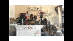 Flowers table arrangement by Madame Fleuriste - YouTube