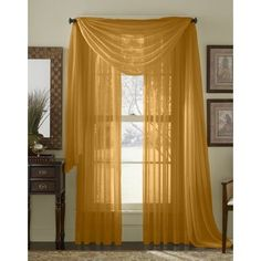 Shop Wayfair for all the best Yellow & Gold Valances & Kitchen Curtains. Enjoy Free Shipping on most stuff, even big stuff.