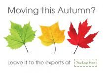 E1336 - moving this autumn  Browse through hundreds of Letting Agent design templates! by @estateagentleaflets  #estateagentleaflets #autumn #designs #2016  Visit our website for more information!