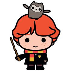 Find magical merchandise in Zazzle's Harry Potter™ store. Harry Potter Kawaii, Harry Potter Cartoon, Theme Harry Potter, Cute Harry Potter, Harry Potter Drawings, Harry Potter Images, Harry Potter Tumblr, Harry Potter Fandom, Harry Potter Characters
