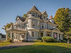 1887 Queen Anne – Hopedale, MA, Plus Over 250 Different Victorian Homes… #victorianarchitecture