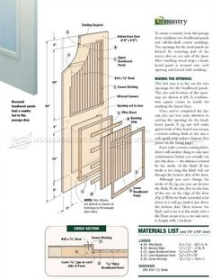 Making Interior Doors   Door Construction And Techniques |  WoodArchivist.com | Doors | Pinterest | Doors, Construction And Interior  Door