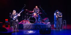 "Musicians Victor Wooten, Steve Bailey, and Derico Watson perform in the sold out concert ""Bass Extremes"" 10.16.2014"