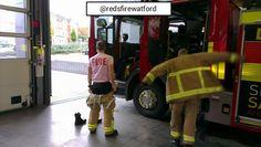 Twitter / redsfirewatford: Off on a fire call but still ...