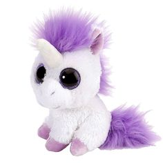 How about getting Lavender the Lil Sweet and Sassy Stuffed Unicorn by Wild Republic? This unique and fun plush unicorn is everything to everyone! Ty Beanie Boos, Ty Peluche, Unicorn Stuffed Animal, Stuffed Animals, Baby Unicorn, Stuffed Toys, Sassy, Lil Sweet, Big Eyes