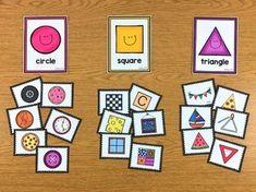 Shape Sorting - FREEBIE #mathematikkindergarten