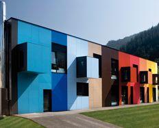 Colorful houses Exterior Formica Vivix