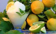 Il segreto della ricetta originale per la granita di limone siciliana