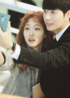cheese in the trap, kim go eun, and park hae jin. O Drama, Drama Fever, Drama 2016, Drama Film, Korean Celebrities, Korean Actors, Korean Dramas, Cheese In The Trap Kdrama, Park Haejin