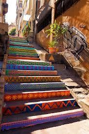 escaleras pintadas - Buscar con Google