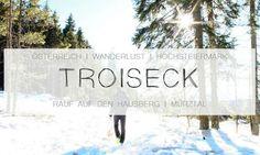 Wanderung im Mürtal, Fischbacher Alpen, Trioseck in Kindberg Wanderlust, Berg, Travel Tips, To Go, Clouds, Adventure, World, Places, Outdoor