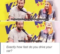 Paramore | funny :)