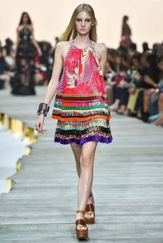 Roberto Cavalli Spring 2015 Ready-to-Wear - Collection - Gallery - Look 9 - Style.com