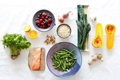3 course 'superfood' meal  that looks beautiful, sounds amazing and the kicker is...healthy!