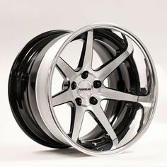 Most people consider our new 7-spoke CV3C Concave wheel to have an aggressive motorsport/racing design, but this example actually looks very retro classic, with its Gloss Black/HTM center, Gloss Black inner, and Polished outer finish combination. Learn more about the CV3C Concave (including sizes & pricing) at: http://www.forgeline.com/products/concave-series/concave-reverse/cv3c-concave.html  #Forgeline #ForgelineWheels #forged #forgedwheels #CV3C #Concave #notjustanotherprettywheel…