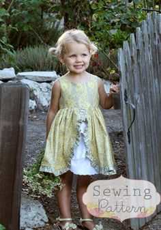 INSTANT DOWNLOAD- Tessa Dress (Sizes 12/18 months to Size 8) PDF Sewing Pattern and Tutorial by sewsweetpatterns on Etsy https://www.etsy.com/listing/113988808/instant-download-tessa-dress-sizes-1218