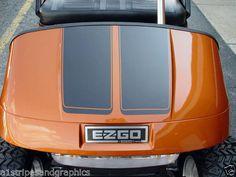 "All Make Golf Cart EZGO Club Car 7"" Hood Stripe Stripes Graphics Yamaha Decals | eBay Motors, Parts & Accessories, Car & Truck Parts | eBay!"