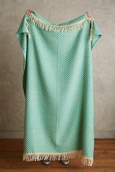 Fringed Almas Throw - anthropologie.com