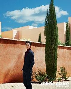 """Kim Soo Hyun for Marie Claire Korea in """"The Red City"""""""