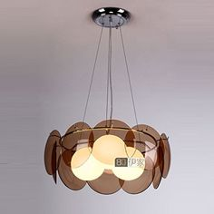 Modern Milan Glass Round Dining Room Ceiling Pendant Light European Lantern shape Bedroom Pendant Lamp Living Room decorative Pendant Lighting (Tawny) OUOVO http://www.amazon.ca/dp/B00ZR9R4X0/ref=cm_sw_r_pi_dp_A1tGvb16757S1
