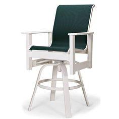 "Telescope Casual Leeward 26"" Bar Stool Frame Finish: Textured Beachwood, Seat Color: Forest Green"