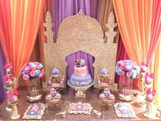 Arabian Nights Birthday Party Ideas   Photo 1 of 13