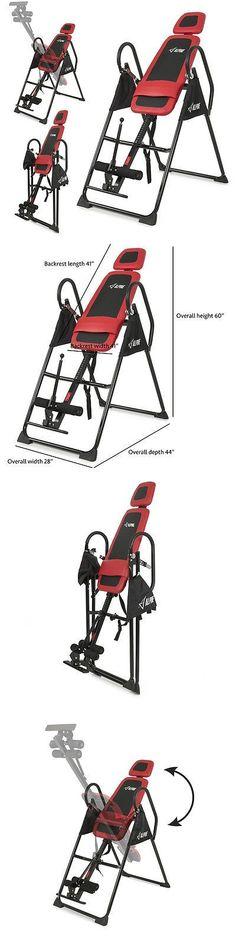 Inversion Tables 112954: New Foldable Premium Gravity Inversion Table Back Therapy Reflexology Fitness -> BUY IT NOW ONLY: $108.99 on eBay!