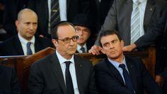 """""""Charlie"""" : Hollande et Valls portent la kippa pour les victimes. Et la laïcité ? - le Plus"""